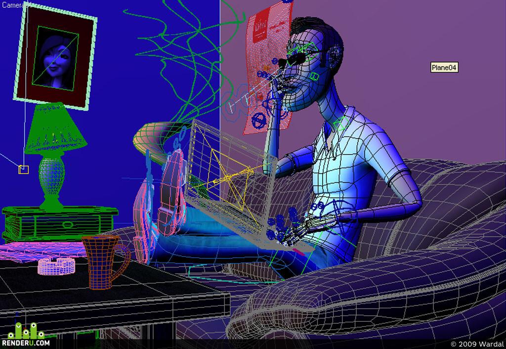 3D advertising