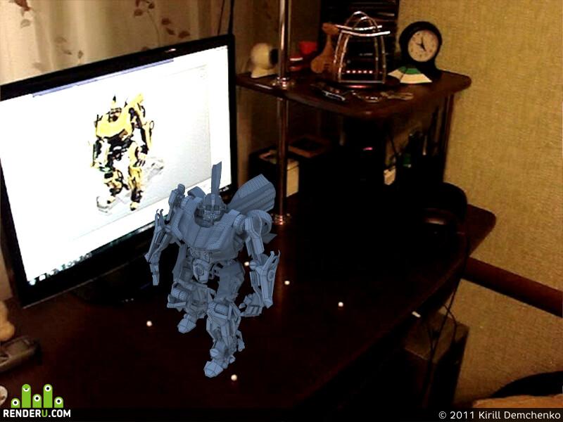 3D композ