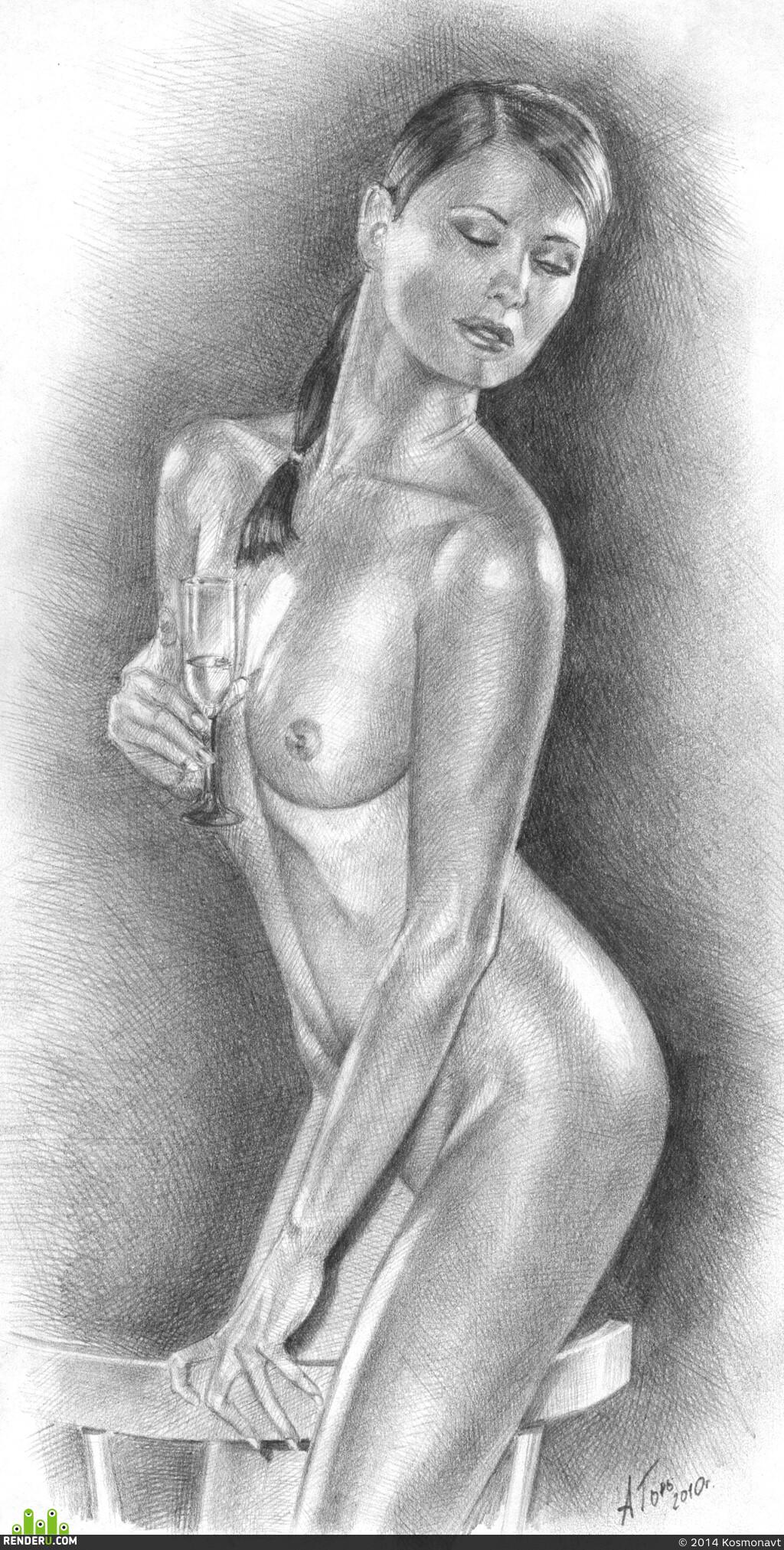эротические женщины карандашом эротика онлайн