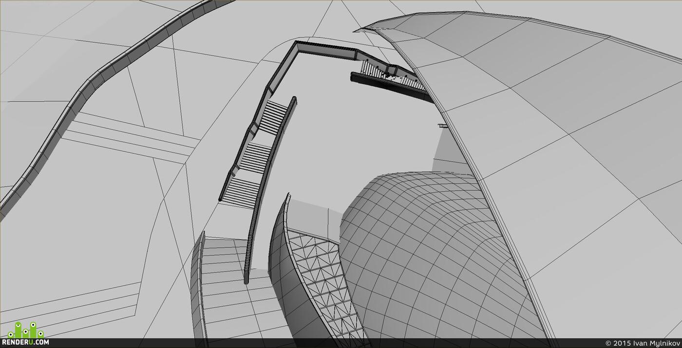 3D архитектура