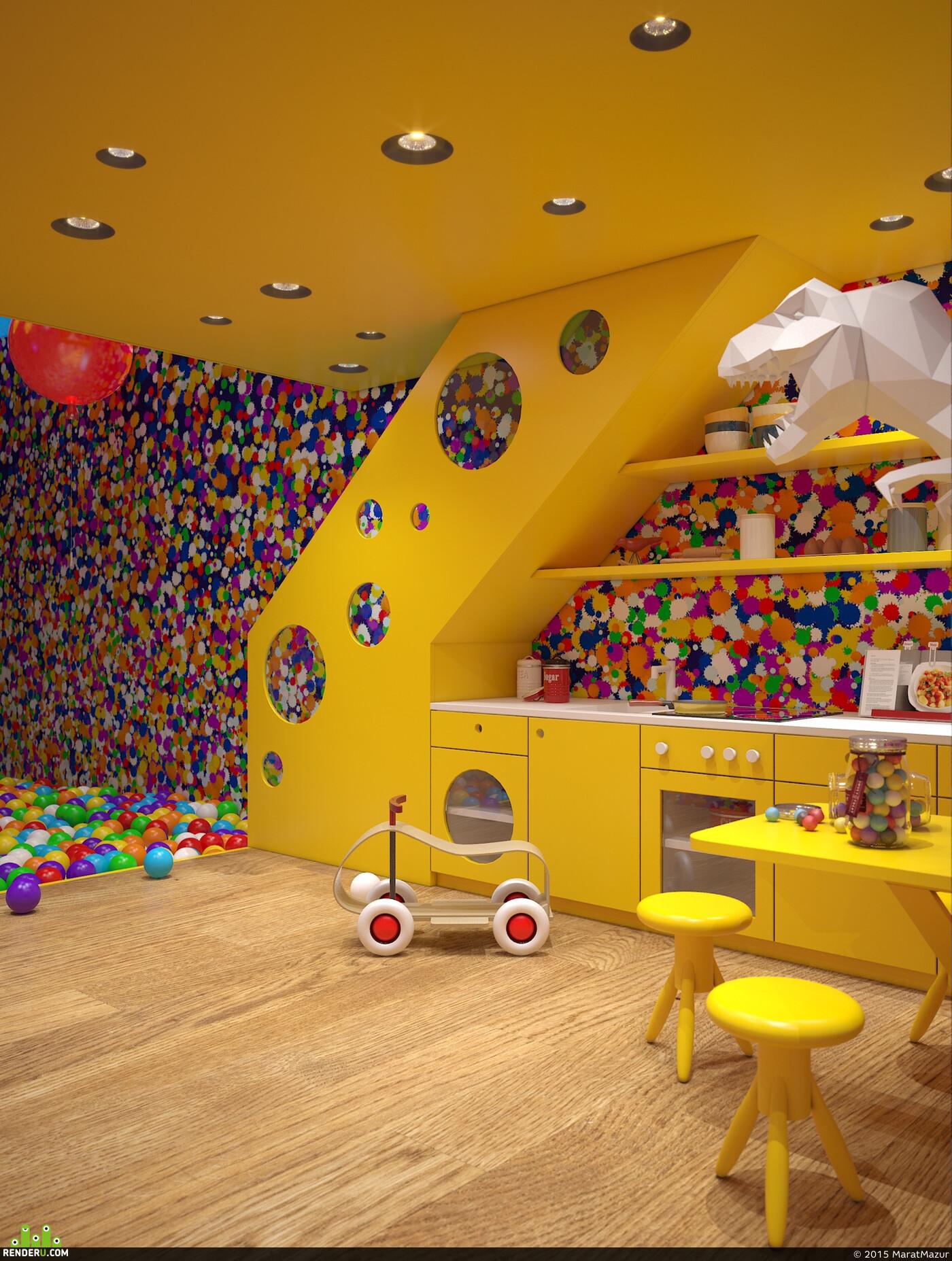 Картинки комнаты игровая