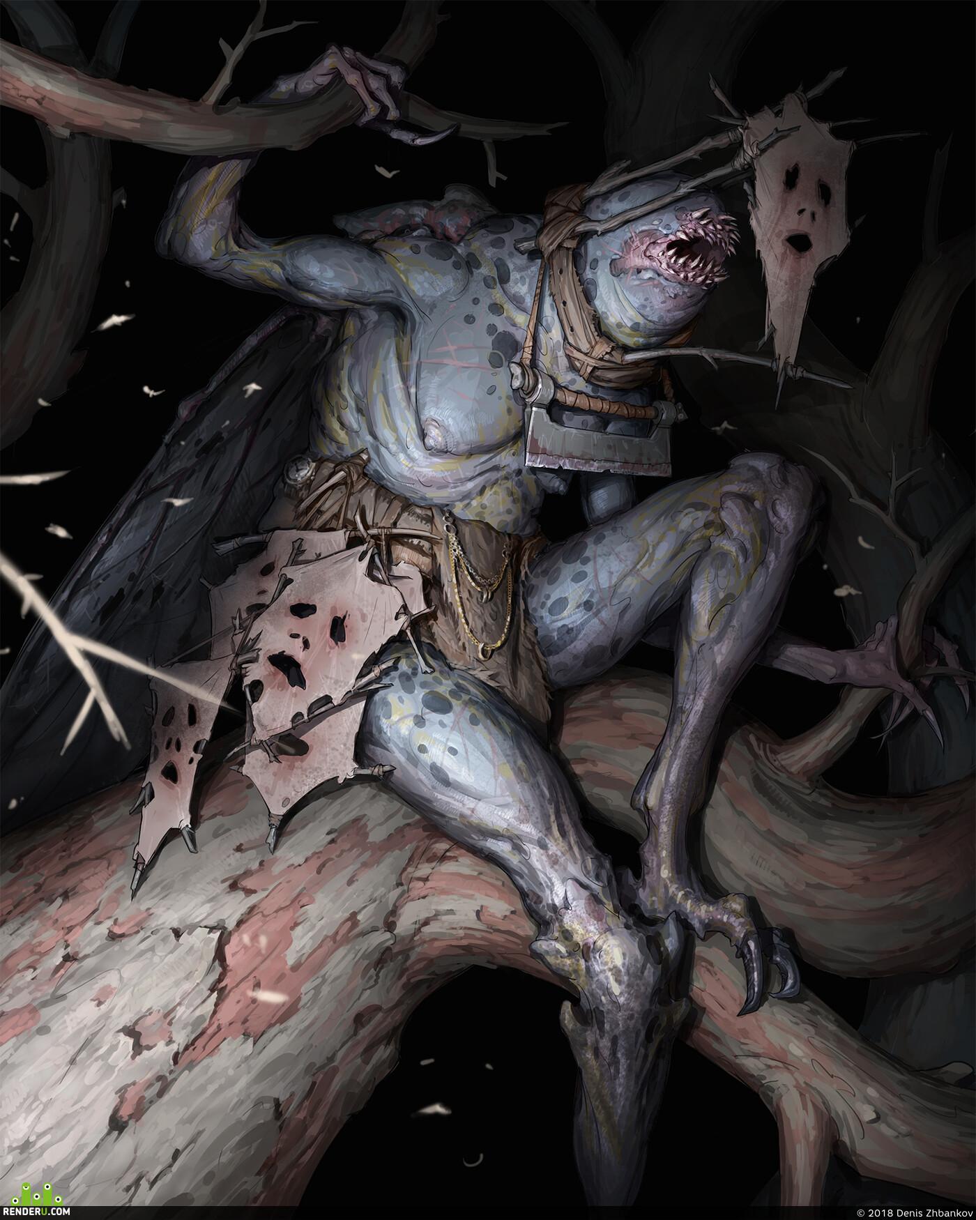 creatures, Characters, Horror