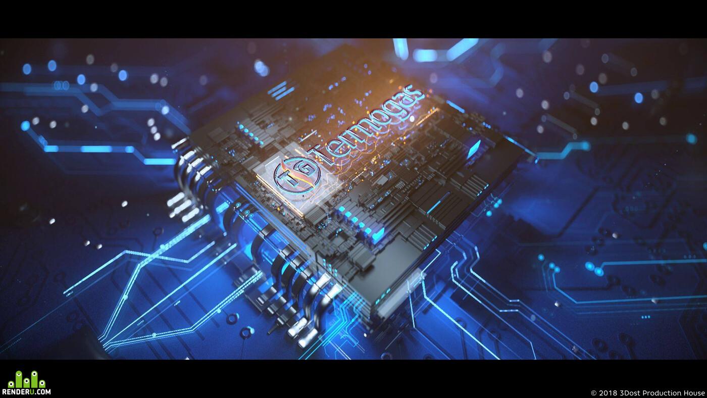 kombi, 3d, 3DOST, baku, azerbaijan, Animation, advertising, agency, termogas, reklama