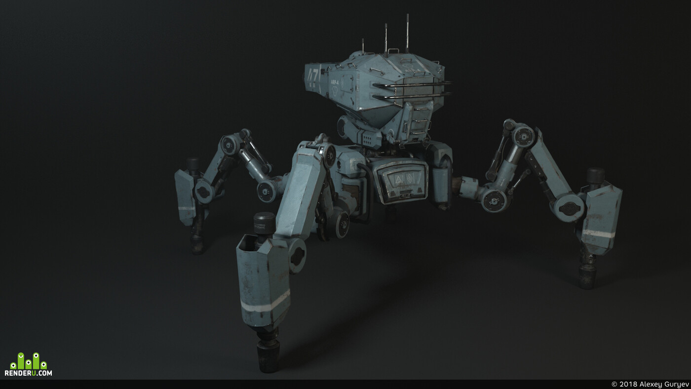 spider tank, mech