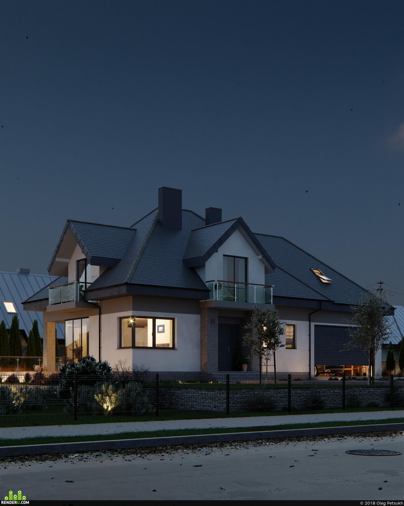 3ds Max, corona render, 3d exterior, Exterior, cgi, archviz, Adobe Photoshop