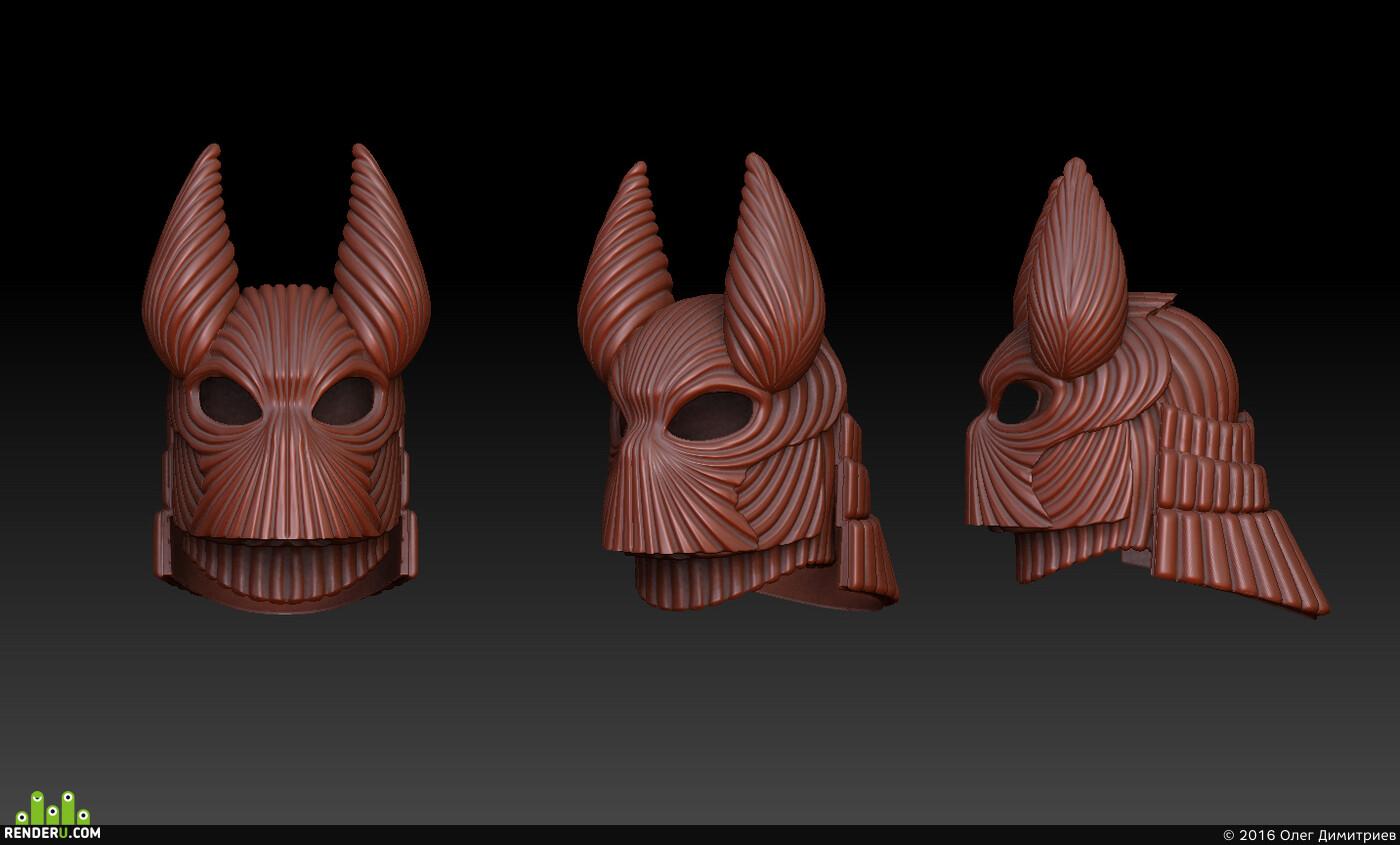 1/6scale, dracula, 3dmodeling, ZBrush, Lightwave 3D
