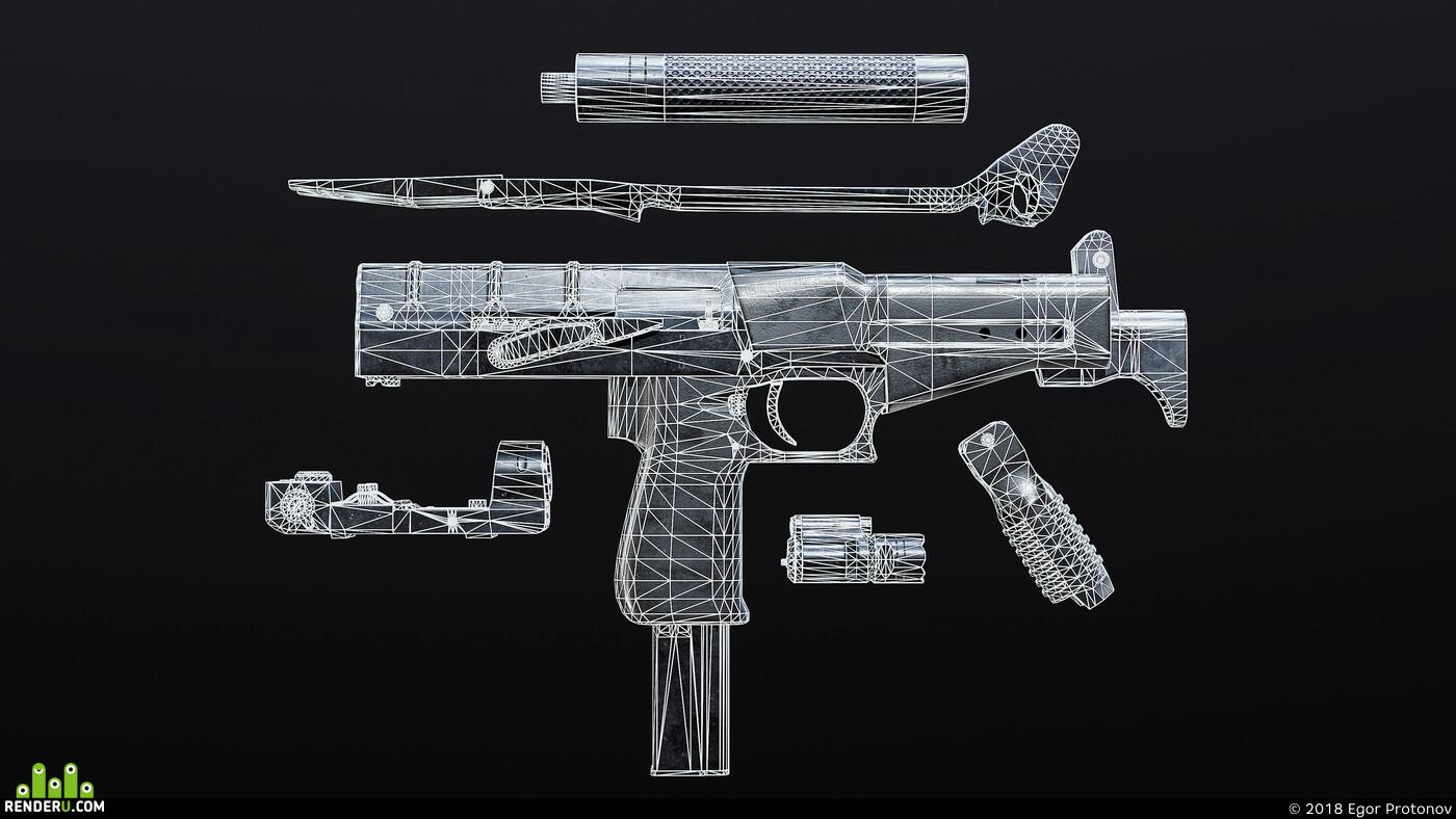 3d, model, modeling, cg art, CG Индустрия, Компьютерная графика/CG, game, Game-ready
