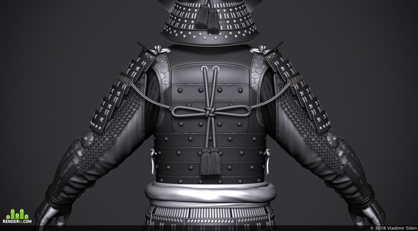 сфмурай, Япония, Катана, samurai, armor, katana