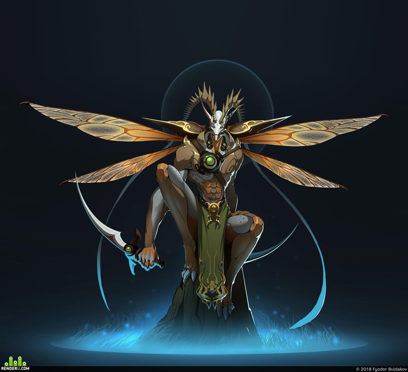 character, design_character, Characters characterdesign characterart, fantasfantasy, Fantasy, Dark fantasy, fantasy creature