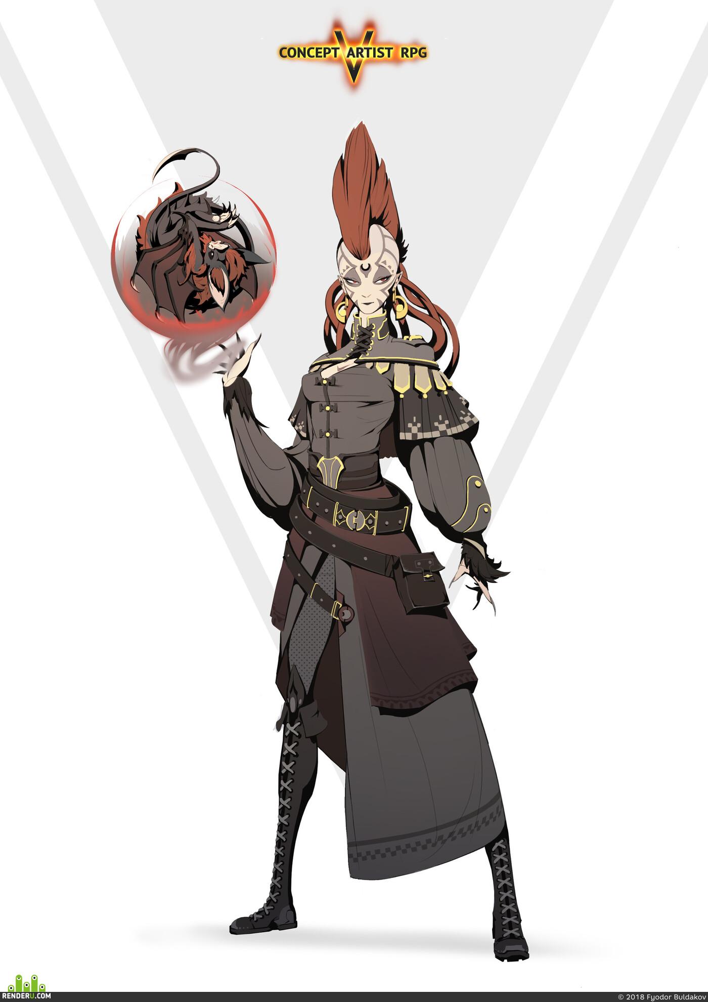 ConceptartistRPG, character, design_character, Characters characterdesign characterart, characters_design, fantasfantasy, Fantasy, magic