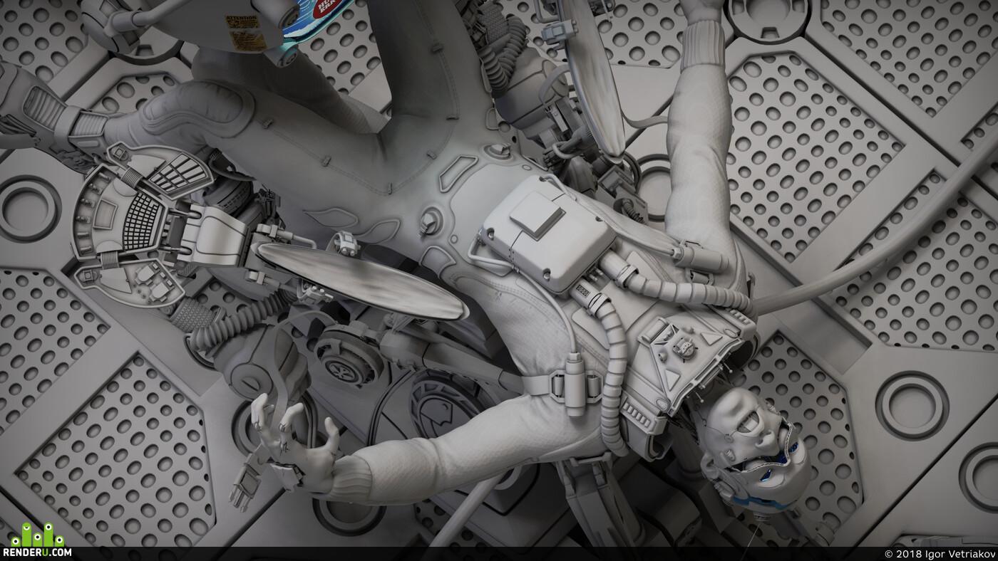 sci-fi, robot, concept_art