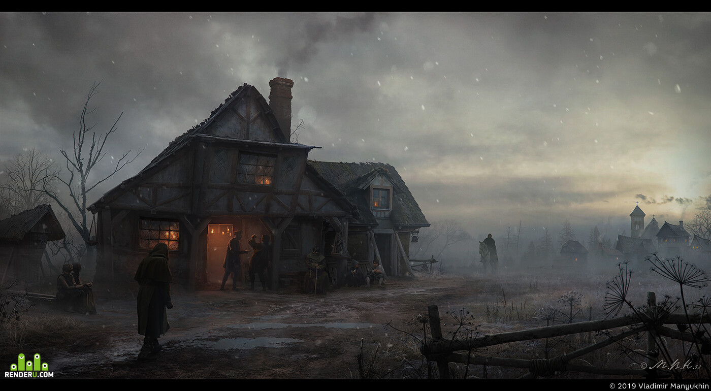 Tavern by the road