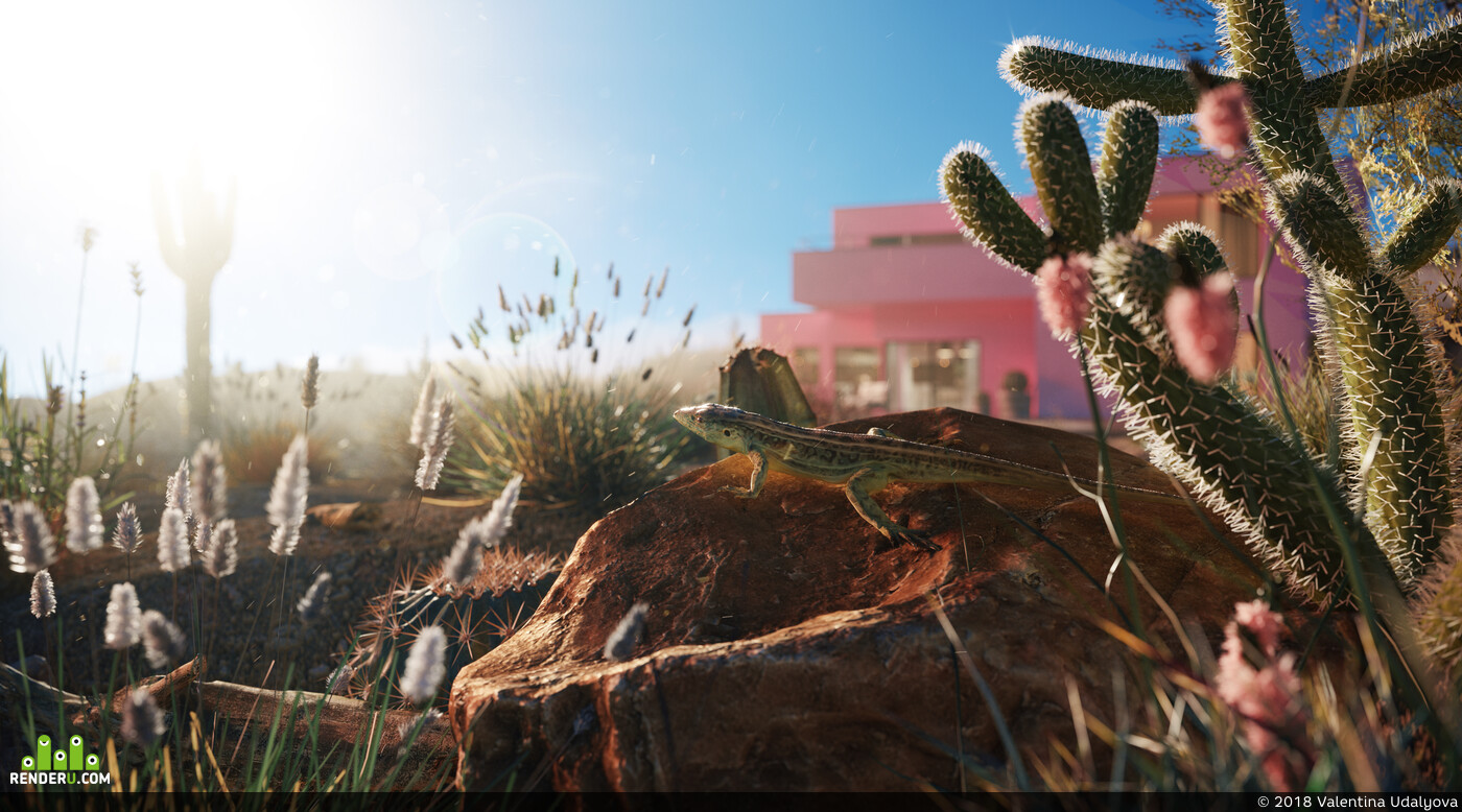 Exterior, Corona Renderer 3D Studio Max 3D архитектура interior interior design design 3D 3D Studio Max 3D архитектура интерьер дизайн интерьера интерьер, corona render, Animals
