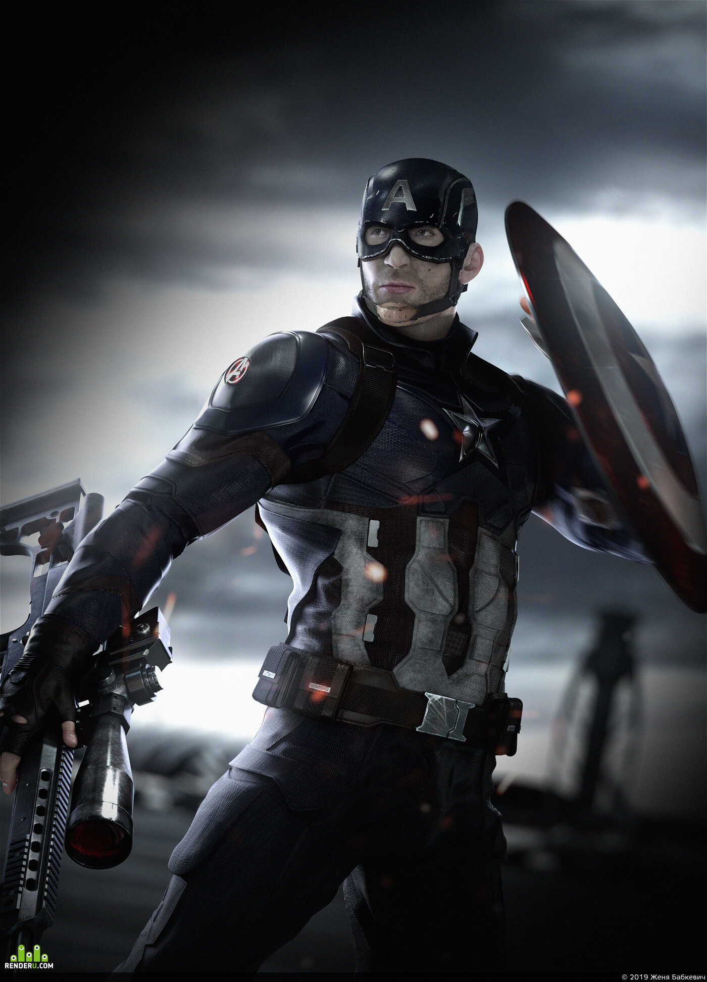 CaptainAmerica, CivilWar, The avengers, The first avenger, soildier, weapon, airport, M98B