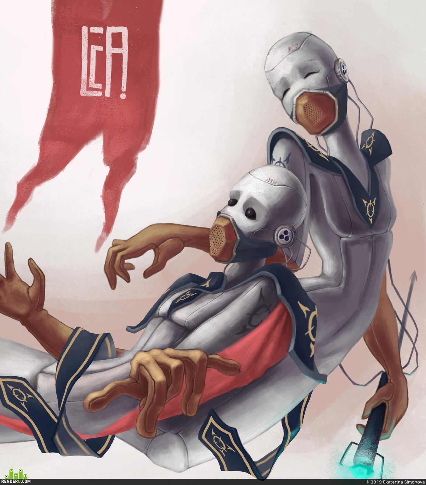 будущее, Фантастика, Иллюстрация