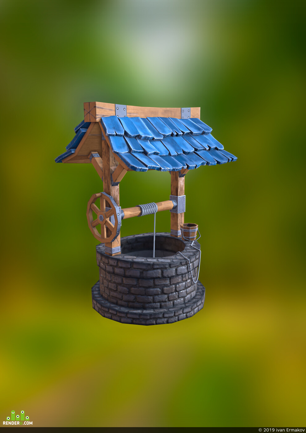 gamedevelopment, substance painter, 3dmax, lowpoly