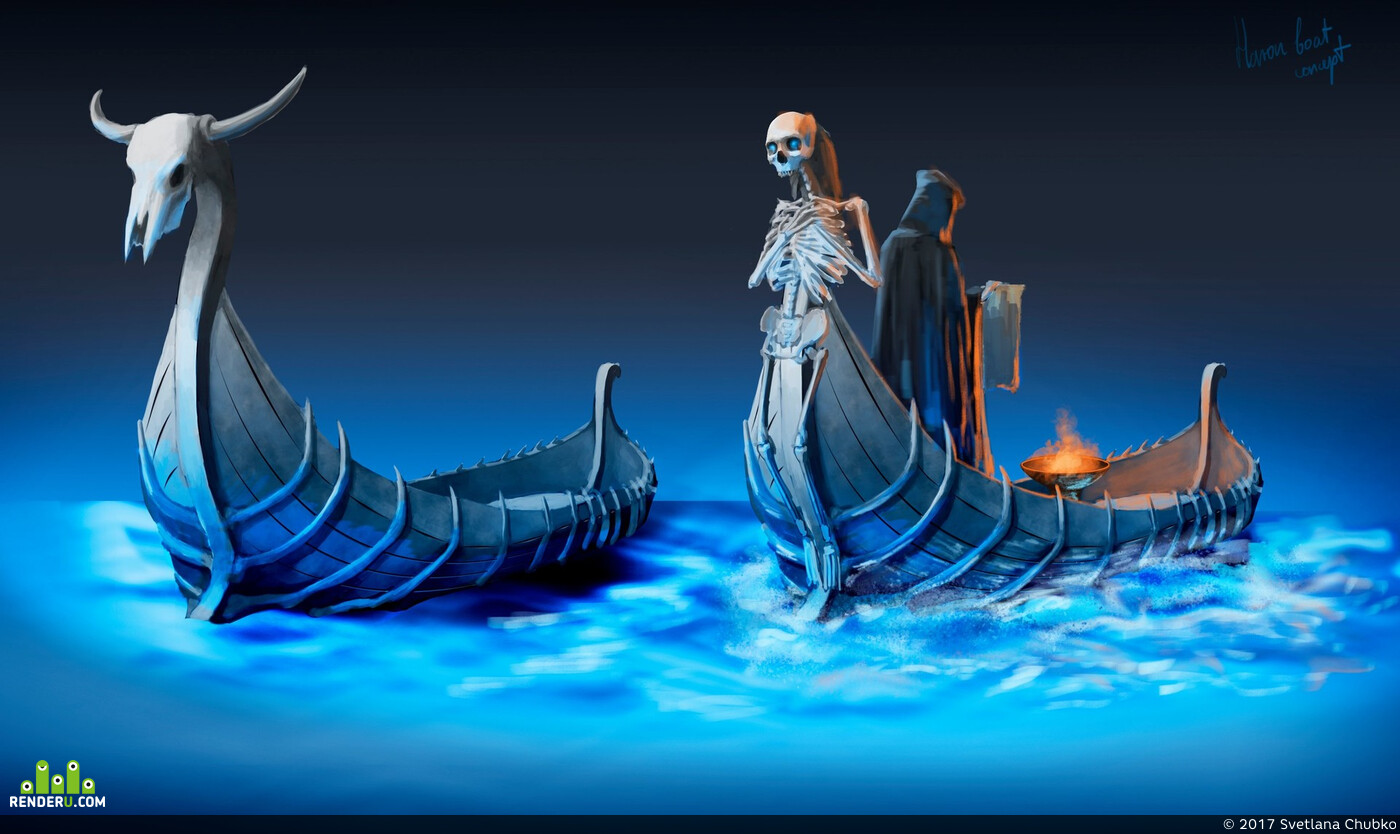 concept-art, Fantasy, spartan, greek, Photoshop, 2D, 2dart