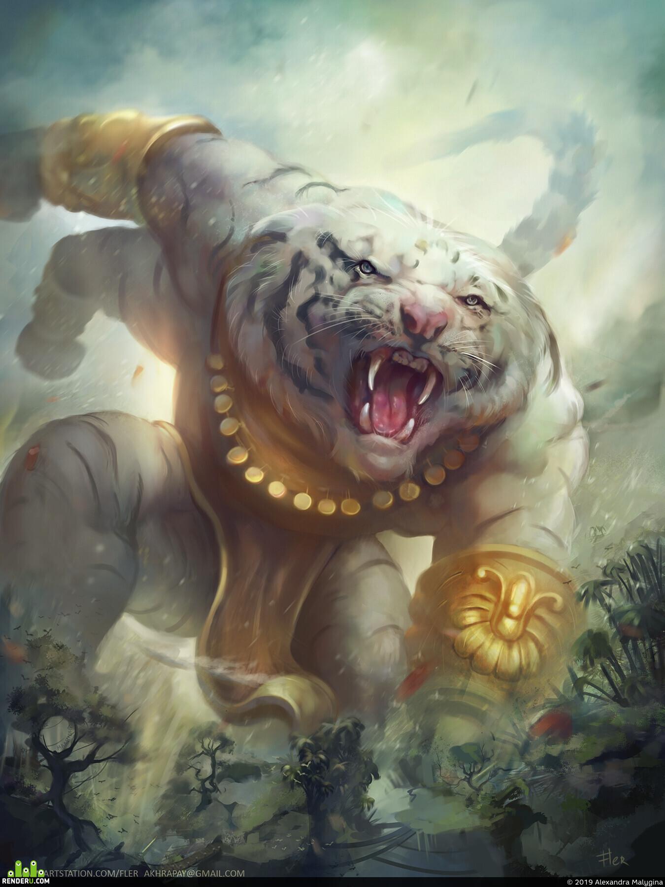 fantasy, cat, Monsters, Animals, humanoid