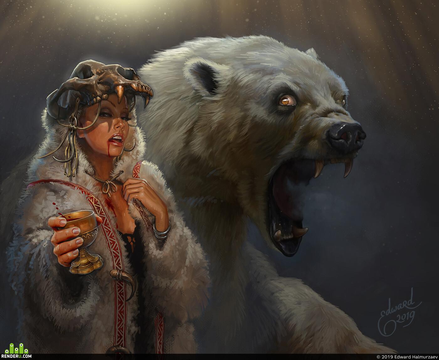 bear's blood