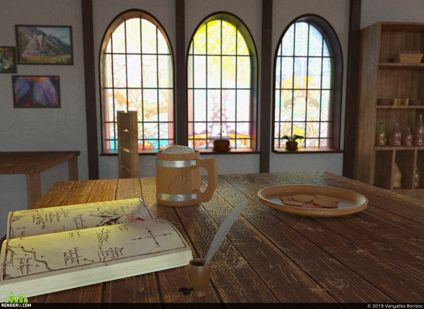 Властелин колец, 3D Studio Max, Corona Renderer