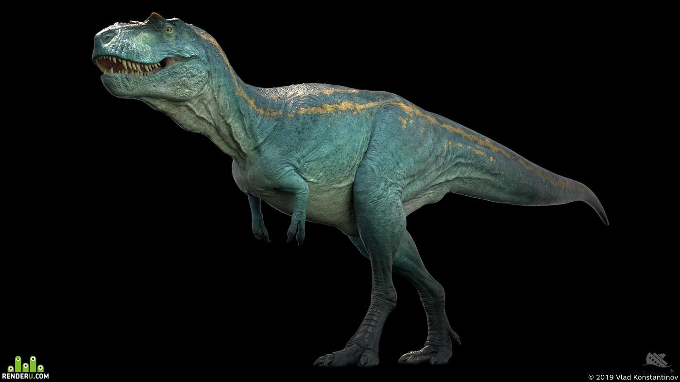 albertosaurus, dino, dinosaur, trex, tyrannosaurus, альбертозавр, динозавр, тираннозавр, tyrannosaurid, 3d
