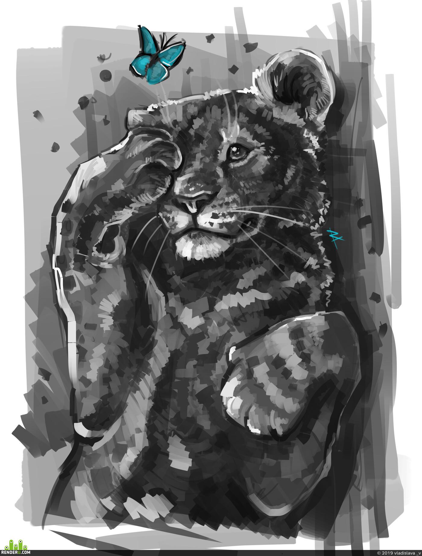 Животные, Лев