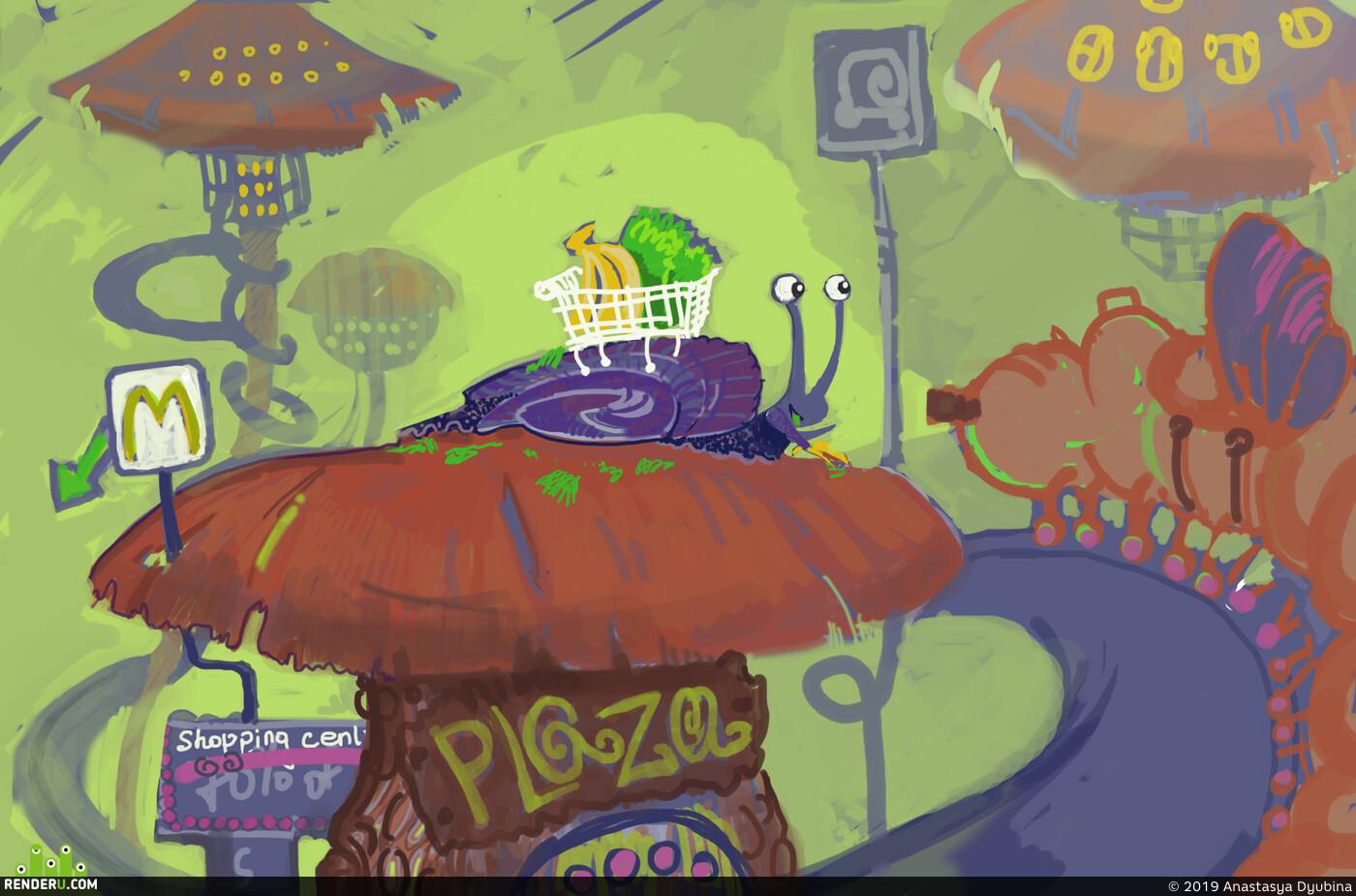illustration, gameart, gameartist, digital sketching