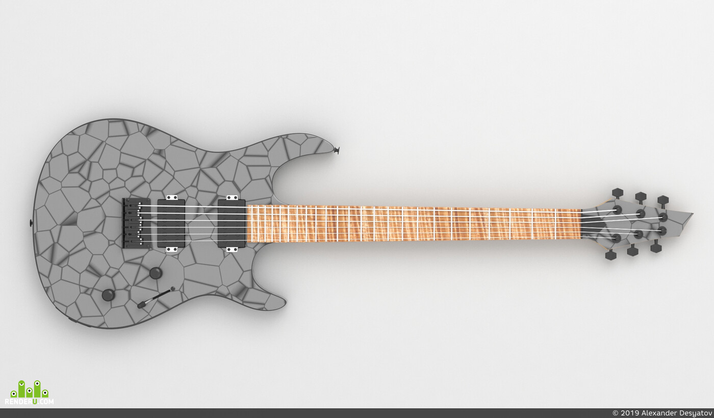 гитара, электрогитара, Carvin, dc600