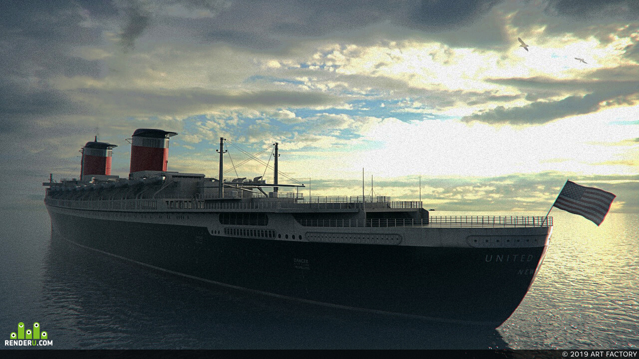 SS United States, ship