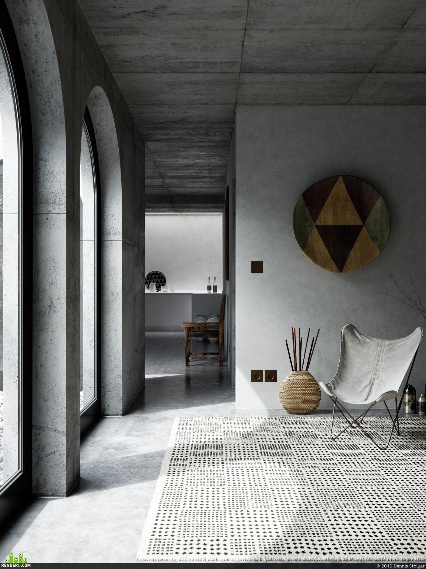 interior, interior design, designer, modern, fullcgi, cg art, archviz, architect, 3d, Corona Renderer
