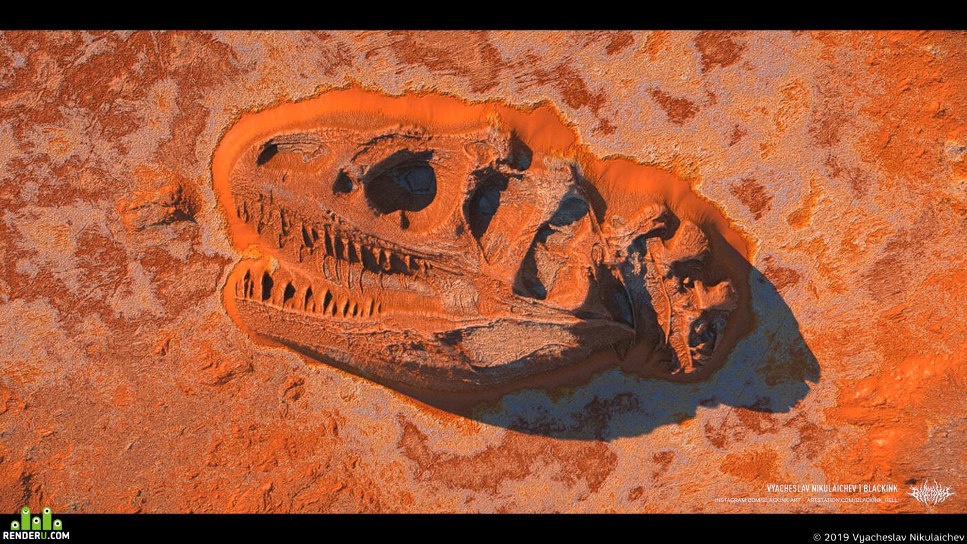 digital 3d, Matte painting, Environments, creatures, Digital 2D, Concept Art, desert, world machine