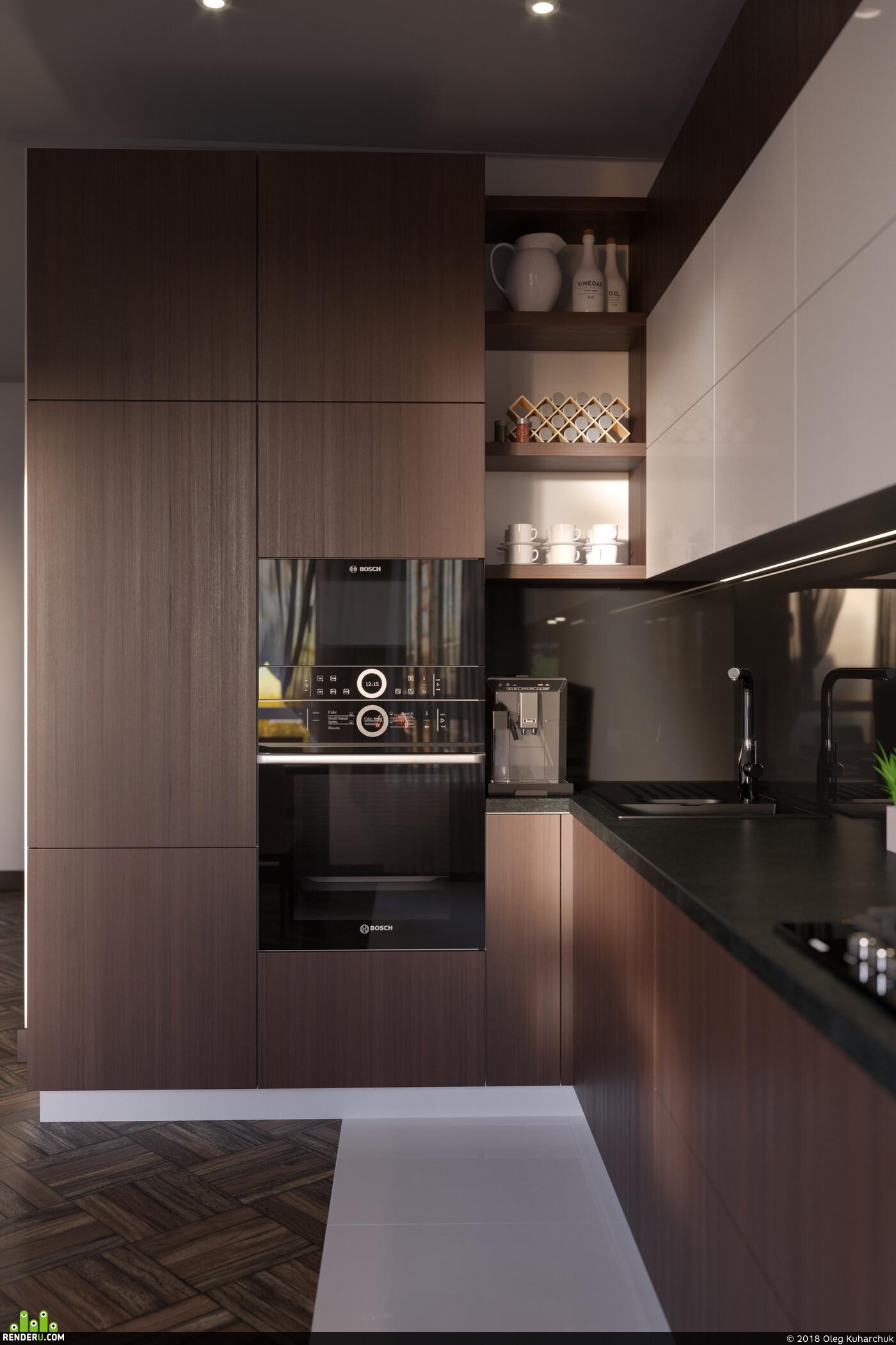 дизайн, дизайн интерьера, дизайн кухни, кухня