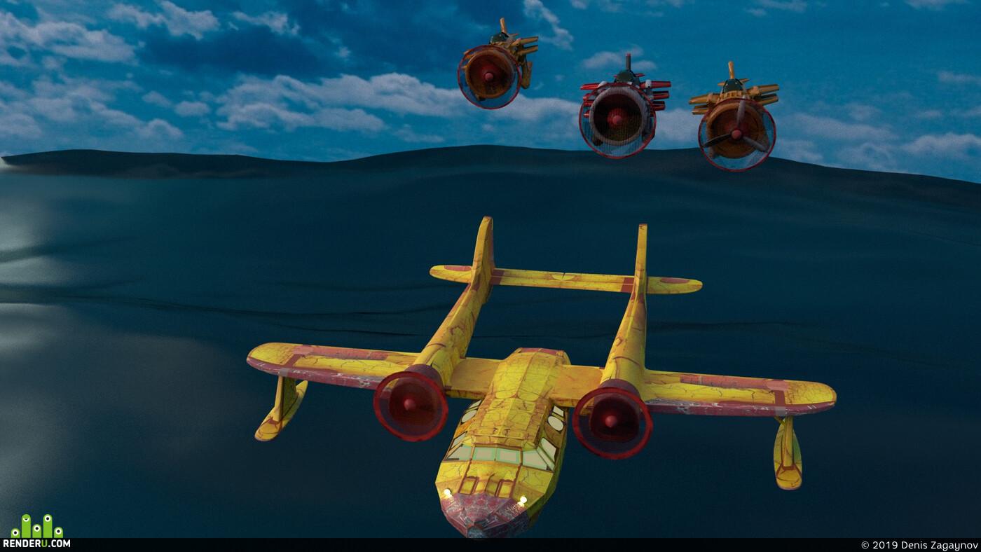 3d, 3D композ, 3D другое, 3dmodels, Walt Disney