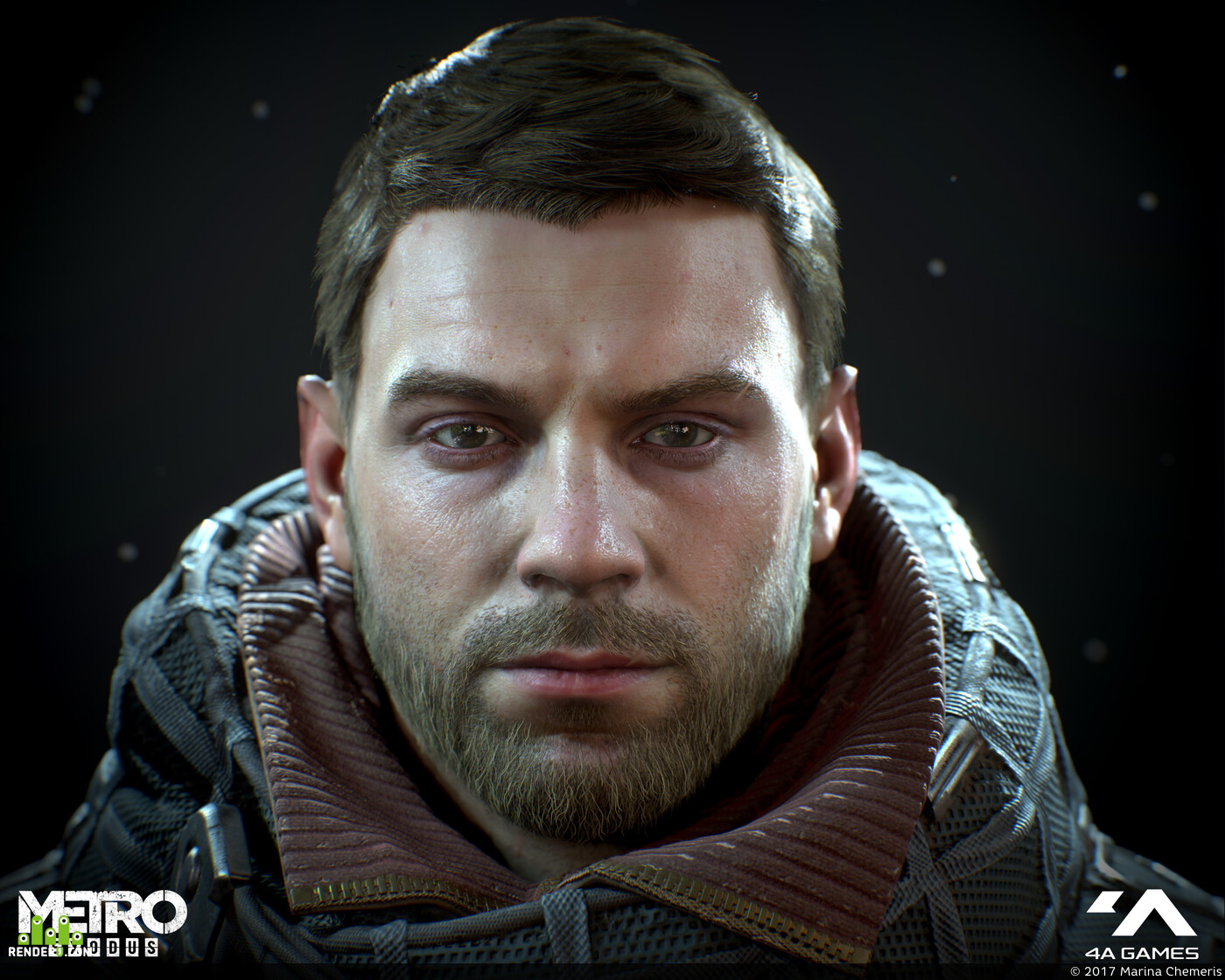 3d, portait, Character, Компьютерная графика/CG, gameart, gamedevelopment, game character, Game-Art, game low poly