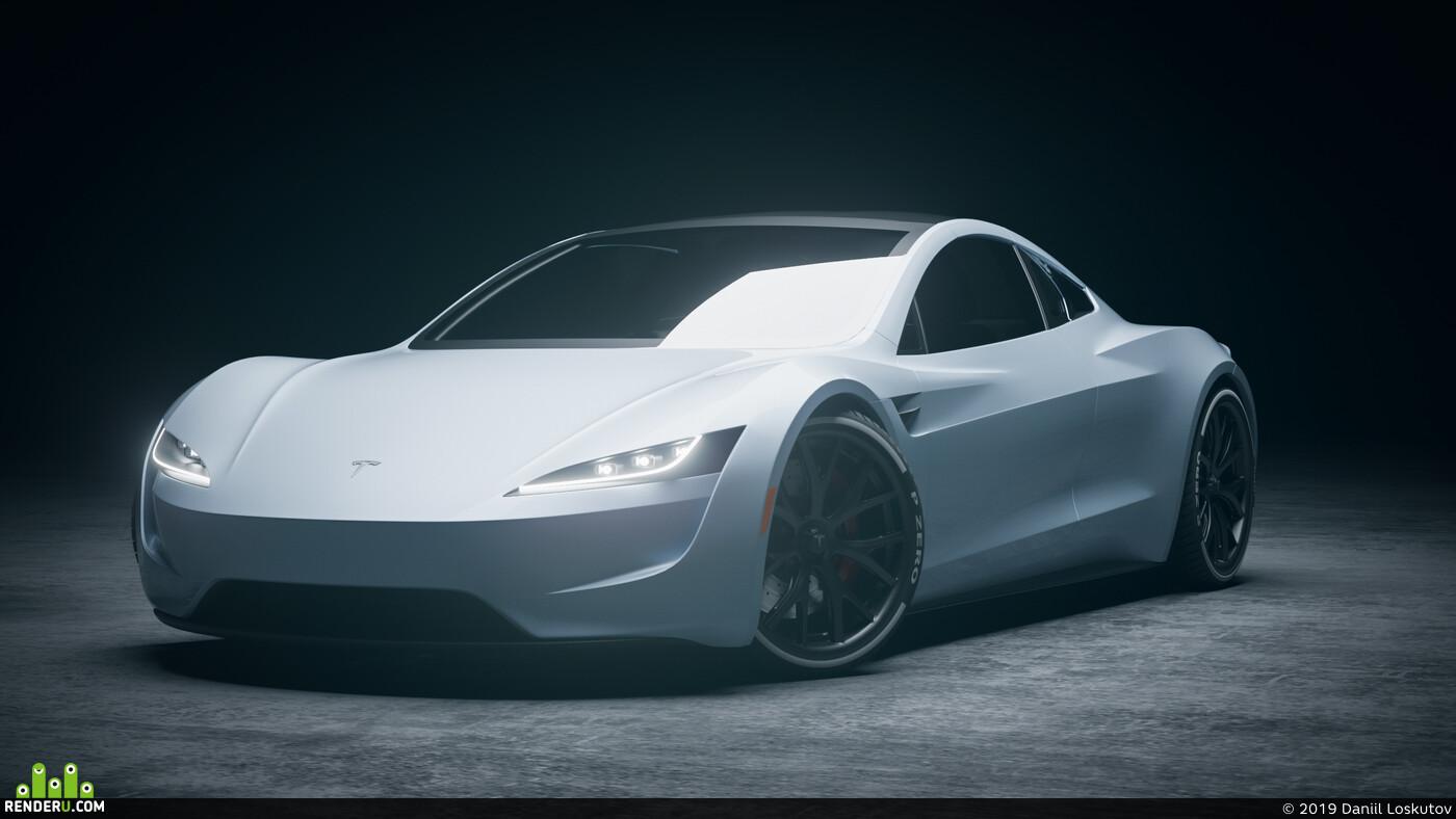 Roadster, tesla, Roadster2020