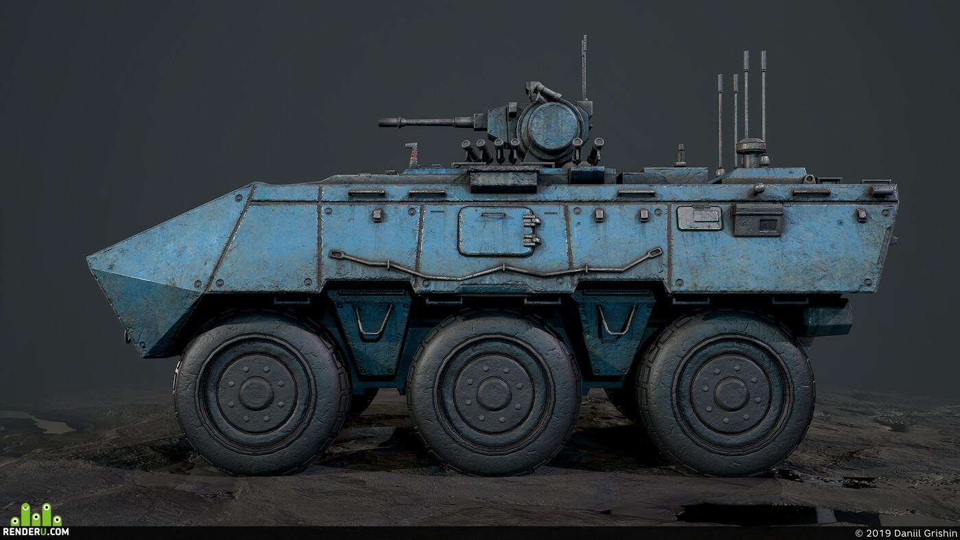 Tanks, APC