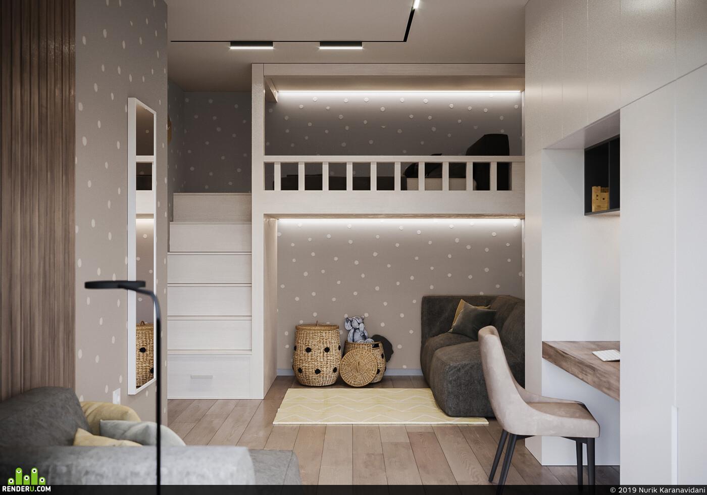 3ds max, Corona Renderer, corona 1.7, interior, interior design, archviz, vizlinestudio, viz, 3dviz