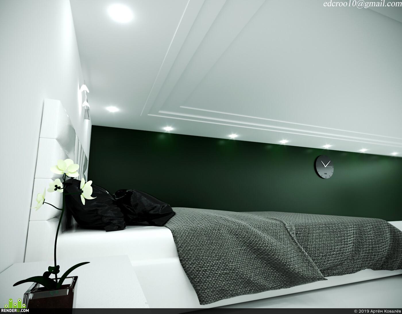 дизайнинтерьера, Интерьерная визуализация, визуализация интерьеров, 3д визуализация интерьера