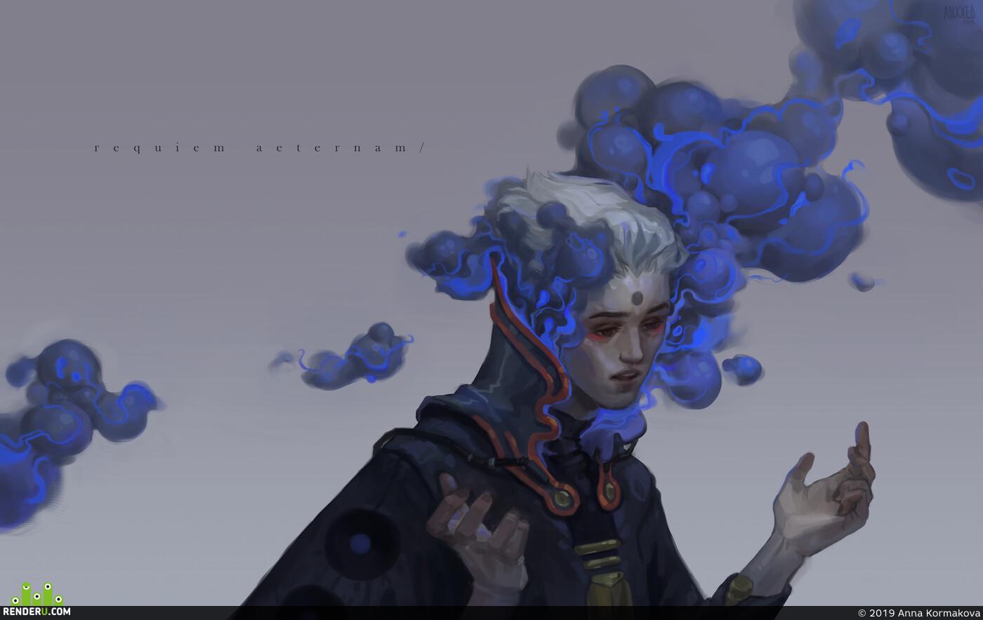 2D, Digital 2D, иллюстрация, Персонажи, Концепт-арт, scifi, sci-fi