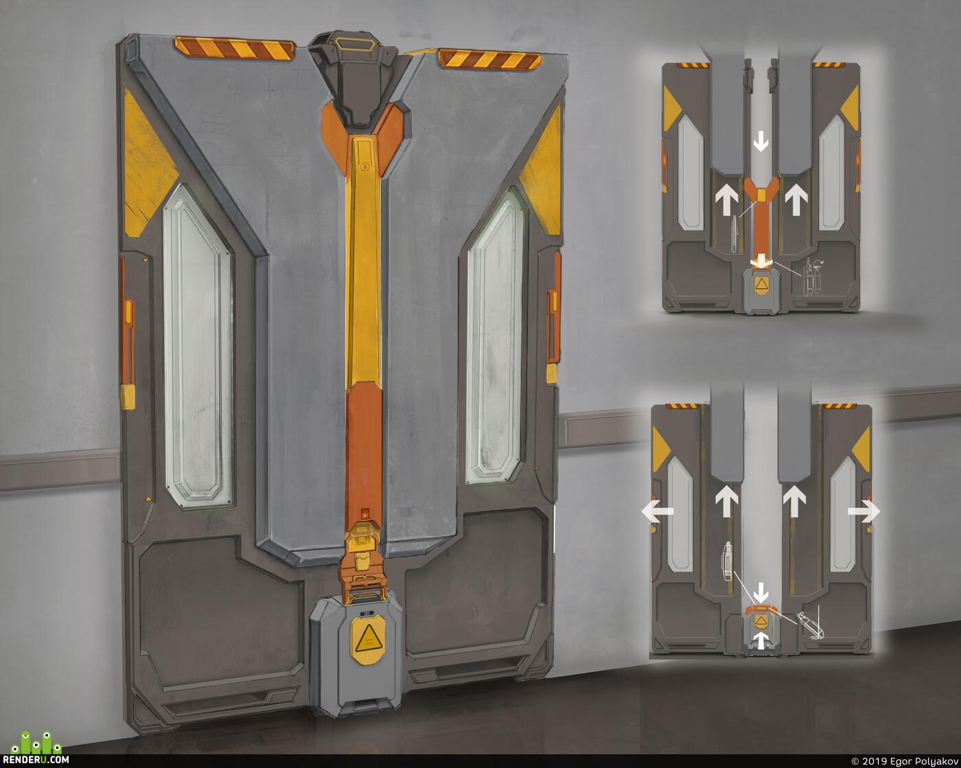 door, concept