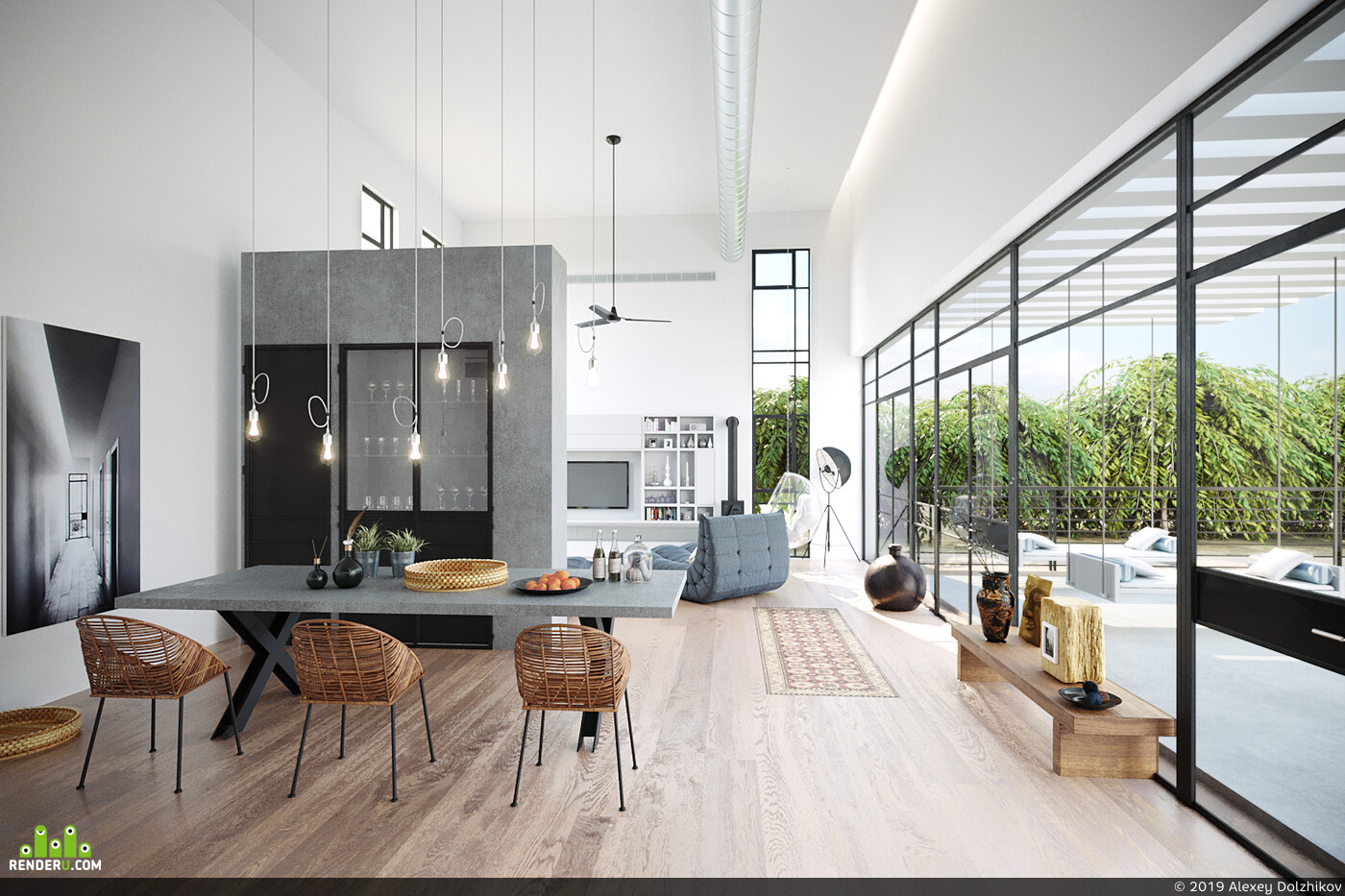 interior, Interior visualization, RENDER 3D VISUALIZATION, 3ds max, Corona Renderer