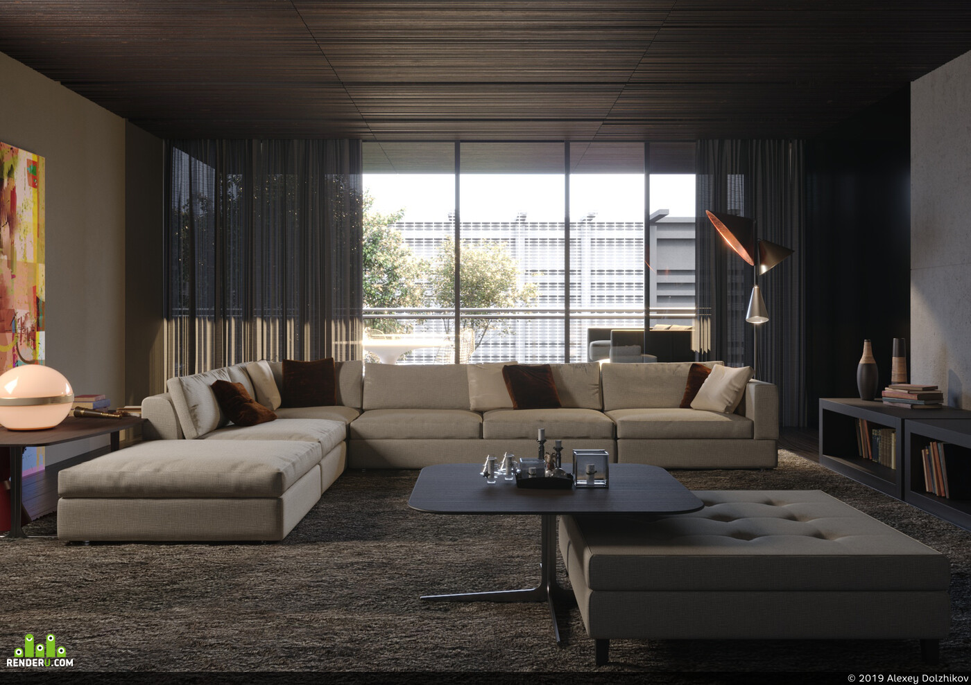 Interior visualization, RENDER 3D VISUALIZATION, 3ds max, Corona Renderer