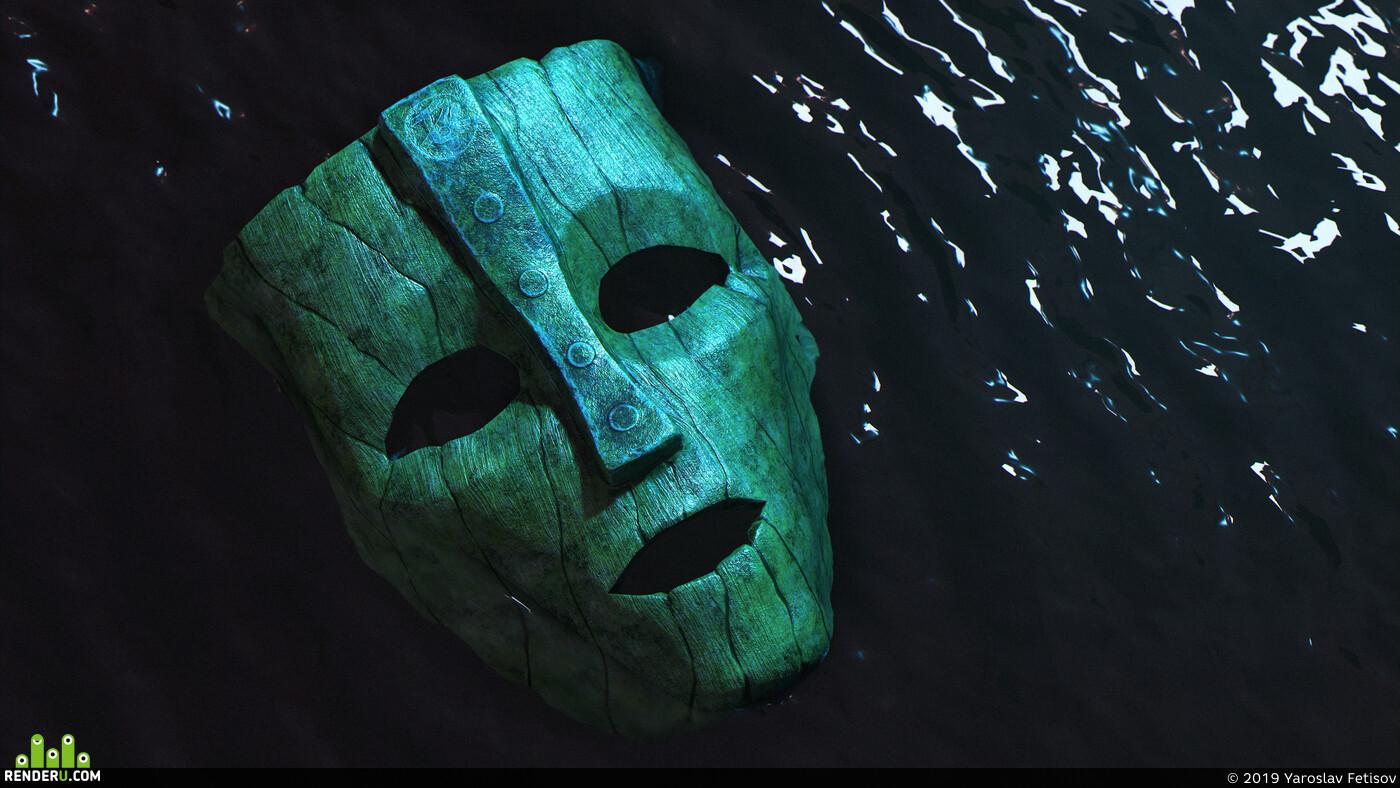 Маска, из фильма