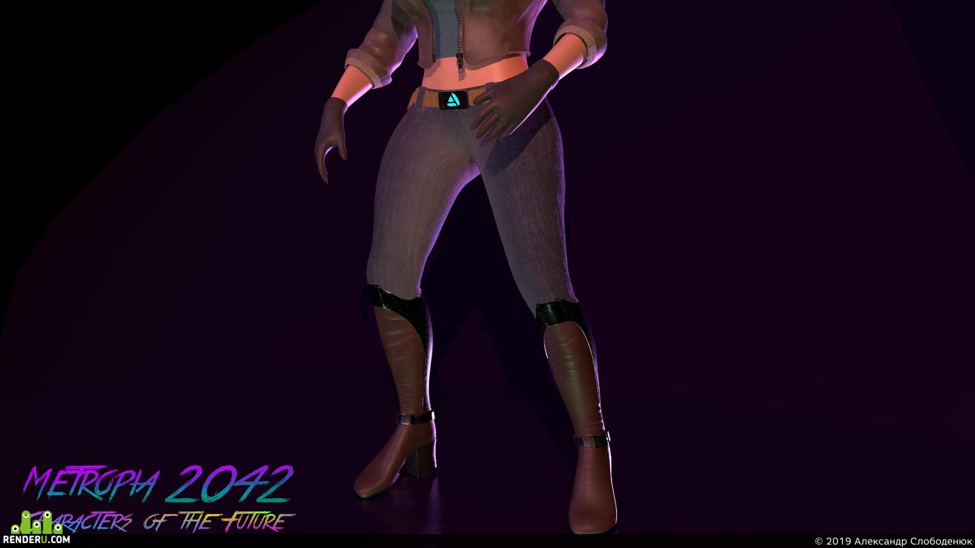 3d character, character, 3dconcept, Concept Art, cyberpank, cyber punk, Cyberpunk 2077