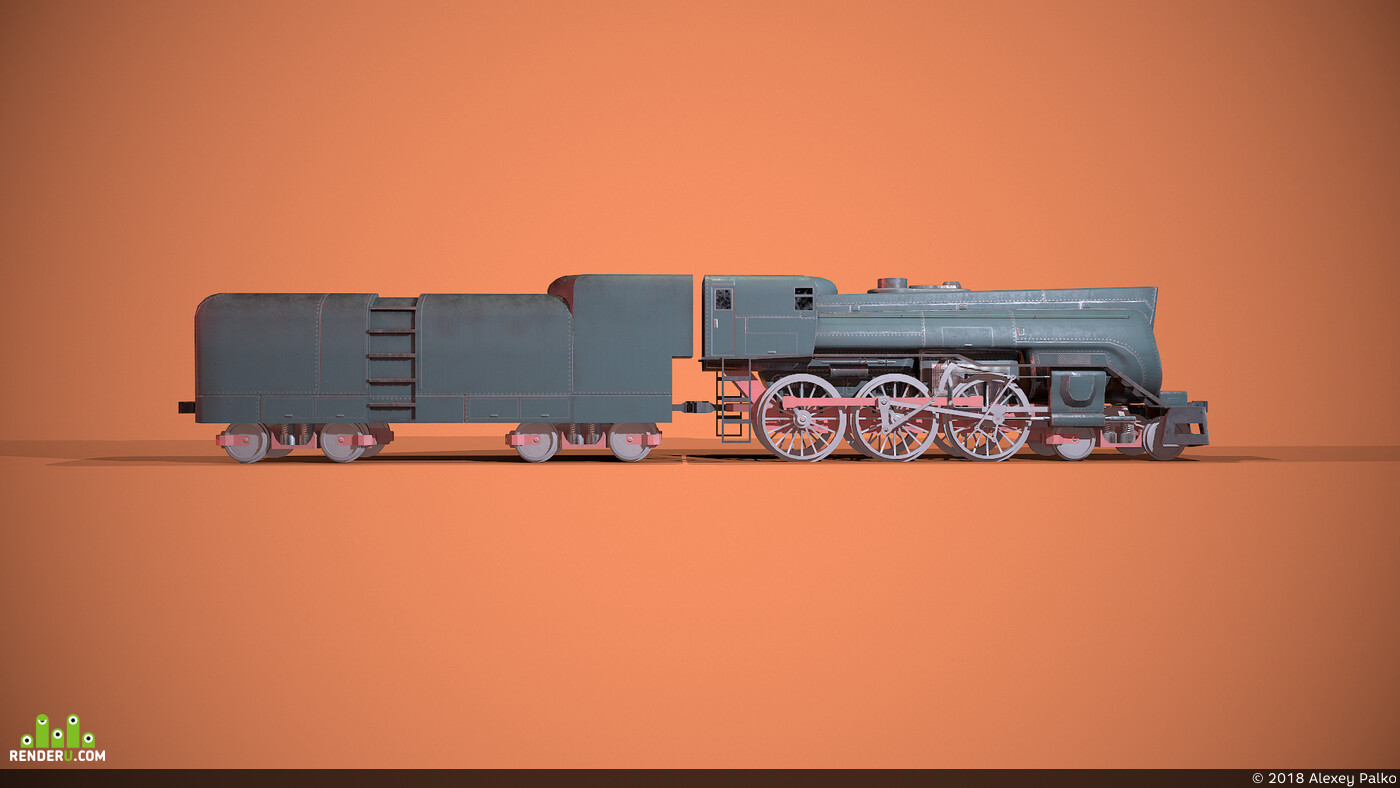 паровоз, поезд, локомотив