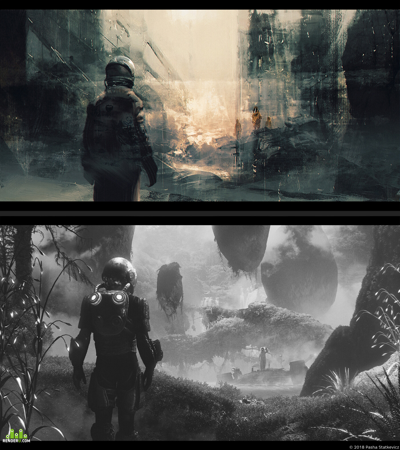concept, Concept Art, illustration, scifi, sci-fi, Matte painting