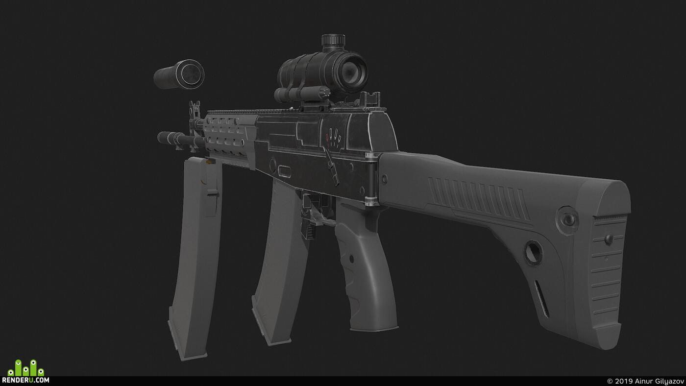 оружие, ак-12