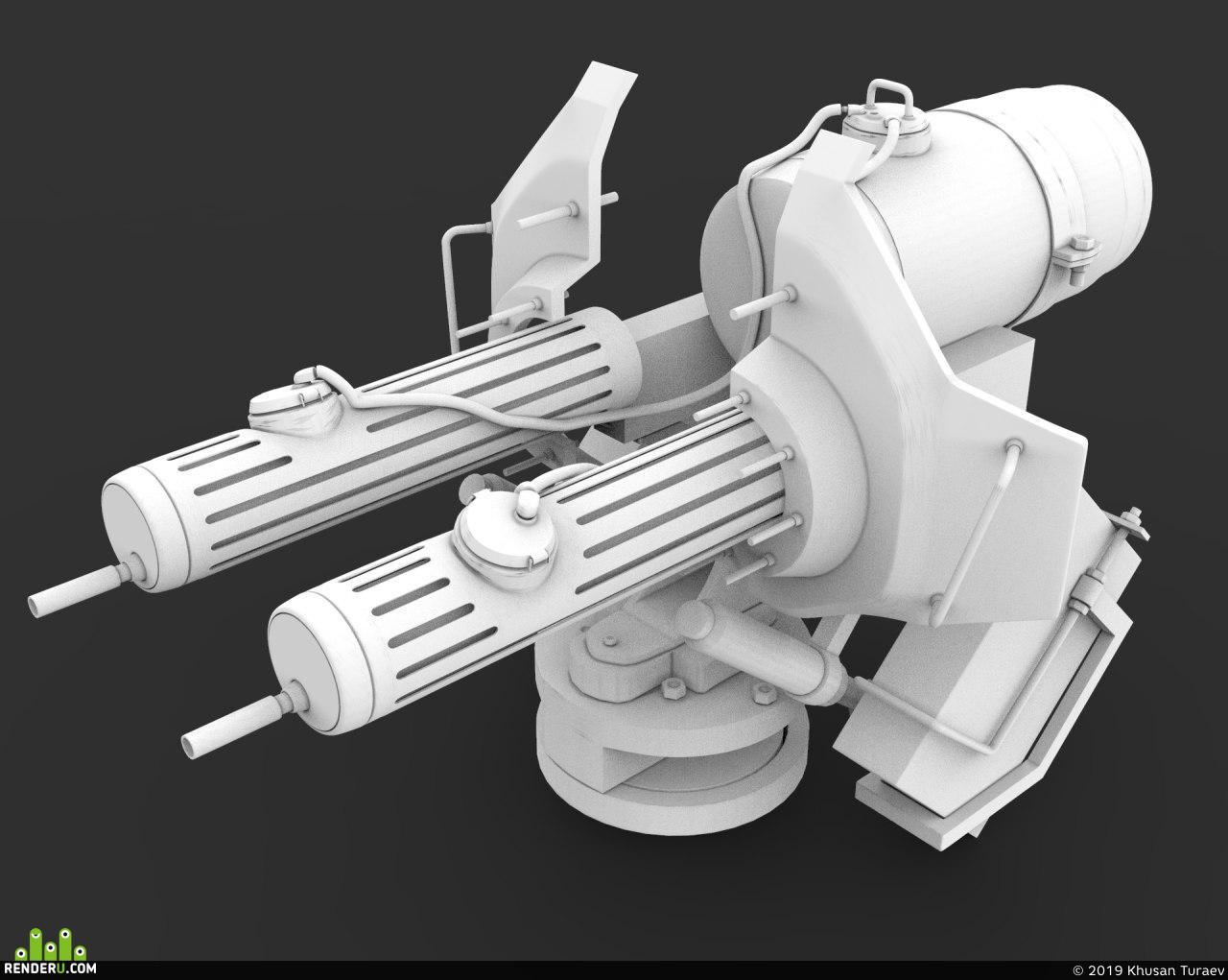 turel, guns, sci-fi