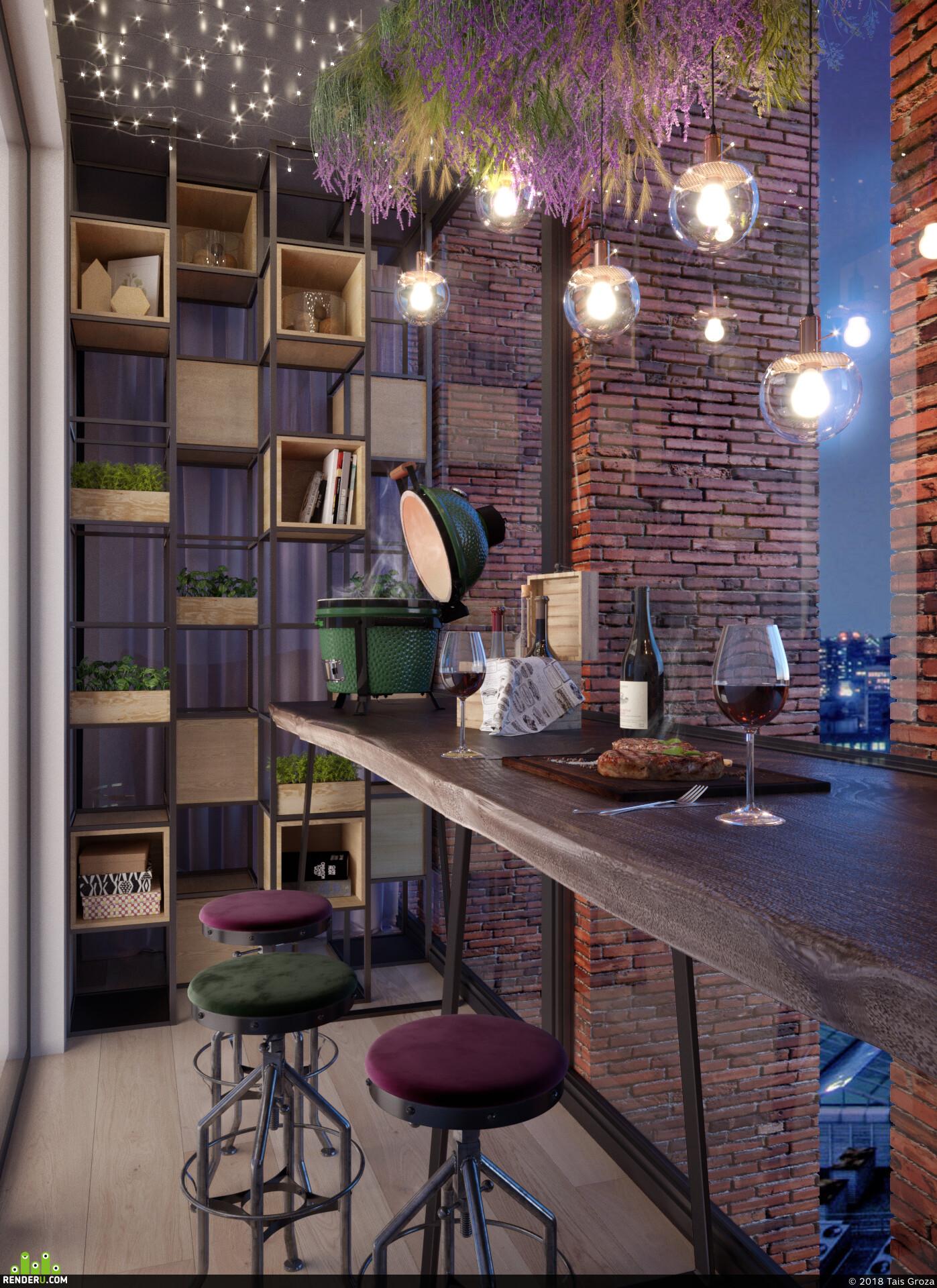 интерьер, дизайн интерьера, Спальня, дизайн, гостиная, Ванная, ванная комната, кухня, темный интерьер, балкон