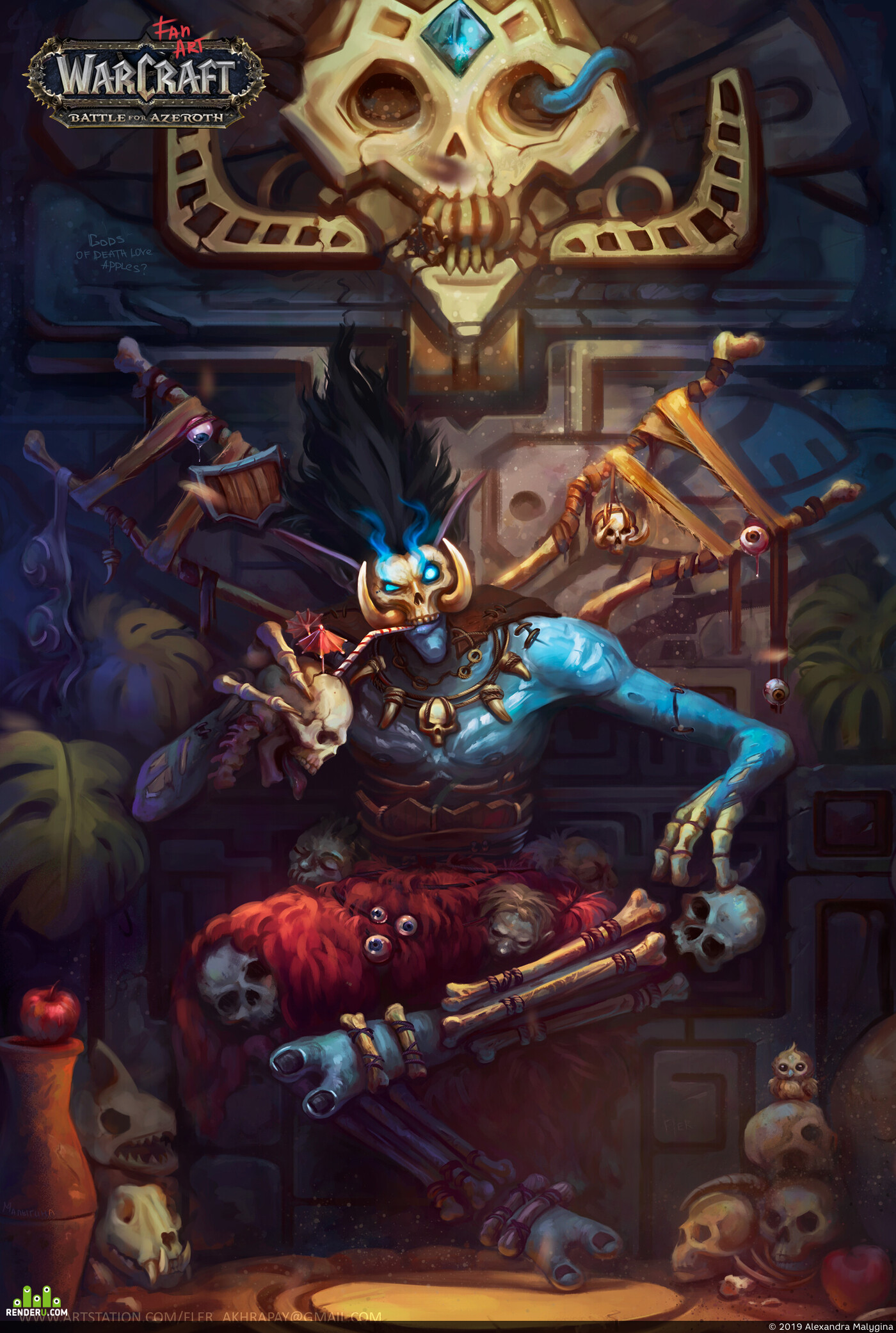 WorldOfWarcraft, Fantasy, Warcraft III, Варфракт, Фэнези